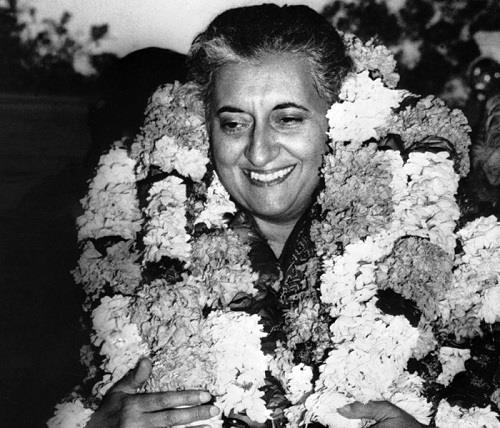 Indira-Gandhi-Elected