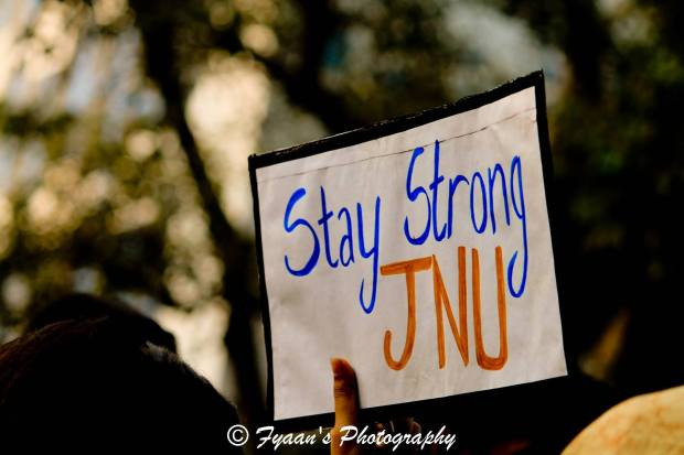 Everyone stood for JNU