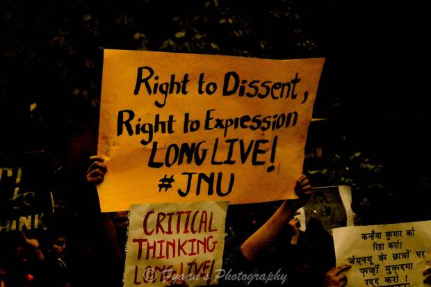If oppression is their privilege, dissent is our right!