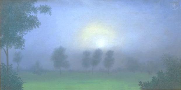 Anil Karanjai, Moonrise, 1990