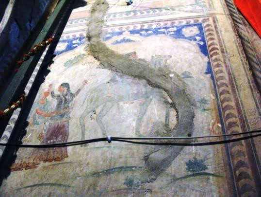 Photo 5: Fresco depicting Sassi Punnu