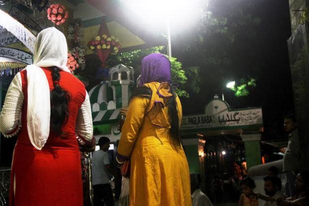 Women at Pagla Baba Mazar
