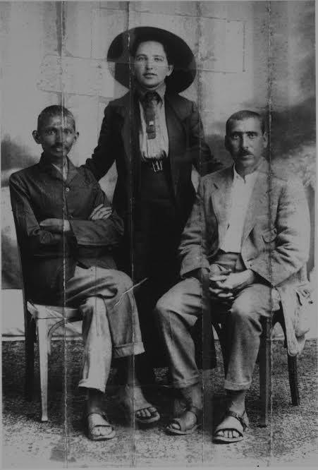 Gandhi, Sonia Schlesin, and Hermann Kallenbach