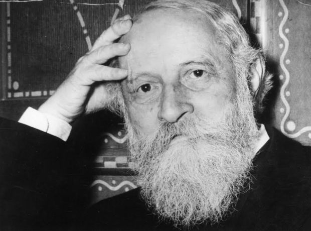 Martin Buber, renowned Austrian Jewish theologian and philosopher.  (Photo by Keystone/Getty Images)